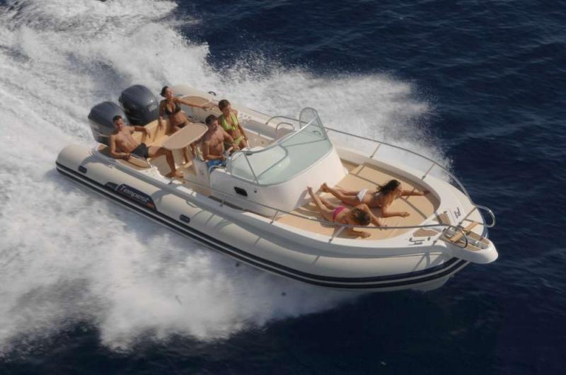location de bateau capelli tempest 900 sun en corse